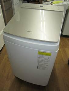 PANASONIC パナソニック 縦型洗濯乾燥機 NA-FW100K8-N 洗濯10.0kg /乾燥5.0kg /ヒーター乾燥(水冷・除湿タイプ) /上開き 2021年製造 美品