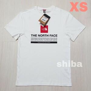 THE NORTH FACE ノースフェイス tシャツ 半袖 白 ホワイト ボックスロゴ Notes tee 海外XSサイズ
