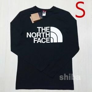 THE NORTH FACE ノースフェイス 長袖 ロンT ロング tシャツ 黒 スタンダード standard 海外Sサイズ
