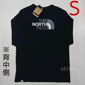 THE NORTH FACE ノースフェイス 長袖 ロンT ロング tシャツ ブラック 黒 イージー Easy 海外Sサイズ