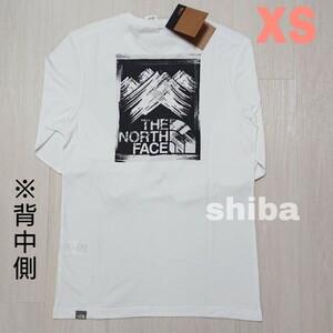 THE NORTH FACE ノースフェイス 長袖 ロンT ロング tシャツ ホワイト 白 ストロークマウンテン 海外XSサイズ