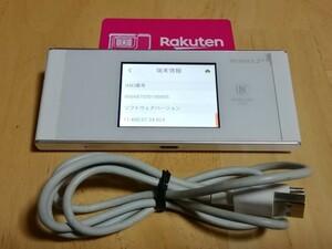 楽天モバイル 対応 W05 SIMフリー ルーター Rakuten UN-LIMIT UNLIMIT アンリミット 895