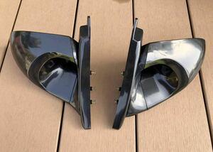 【美品】S15 シルビア ガナドール風 エアロミラー 左右セット ドリフト D1 軽量化 S1314180SXワイルドスピードR323334GT-Rスカイライン