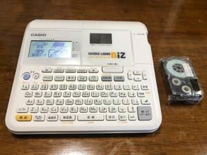 中古 印刷・テープカット動作確認済み カシオ CASIO ネームランド Bizラベルプリンター KL-M7