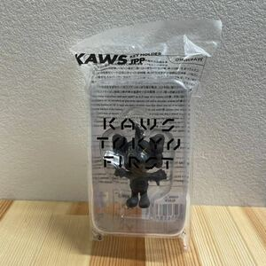 【売り切り】 KAWS TOKYO FIRST キーフォルダー カウズ ピーポくん ブラック MEDICOM TOY メディコムトイ ベアブリック 新品未使用 未開封