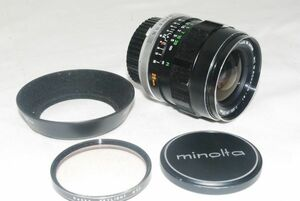 Minolta ミノルタ MC W.Rokkor-S1 28mm F2.5 #388