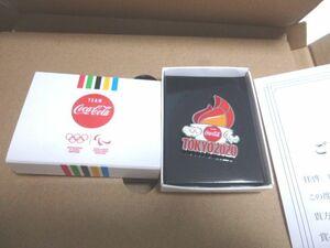 【新品】コカコーラ 東京オリンピック2020記念ピン ピンバッヂ 聖火 非売品