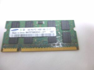 [ used ]Samsung original Note PC for memory M470T5663EH3-CF7 2GB DDR2 PC2-6400 correspondence 200 SODIMM