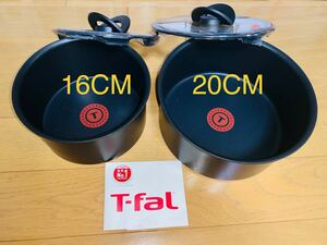 10月特価 新品送料込み ティファール T-FAL IH対応ウォールナット ソースパン4点
