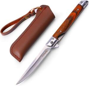 ☆新品☆Yahuhu キャンプ ナイフ アウトドア フォールディングナイフ 折りたたみ