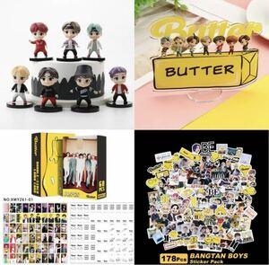 BTS ミニフィギュア & アクスタ & カード & シール セット