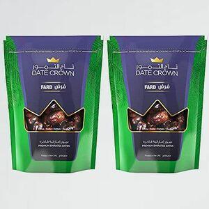 未使用 新品 デ-ツ デ-ツクラウン G-XG ドライフル-ツ) (2個セット) ファ-ド種 500g (濃厚な甘さナツメヤシ/ 無添加 砂糖不使用