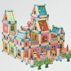新品 未使用 おもちゃ TYORORO 5-9H 入園 クリスマス 知育玩具 男の子 女の子 人気 積み木 組み立て 木製ビルディングブロック