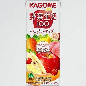 未使用 新品 野菜生活100 カゴメ J-JC 200ml ×24本 アップルサラダ
