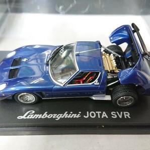 京商 1/43 ランボルギーニイオタ SVR ブルー 03201BL