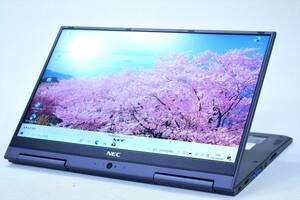 【即配】超軽量831g!13.3型FHD2-in-1PC!第7世代Corei5+SSD256GB!LaVie Hybrid ZERO GN254U/2A i5-7200U 4GB カメラ Win10