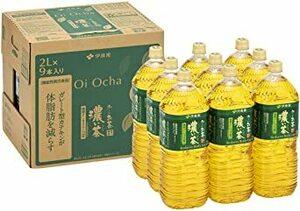 1) 2L×9本 伊藤園 RROボックス おーいお茶 濃い茶 2L ×9本【機能性表示