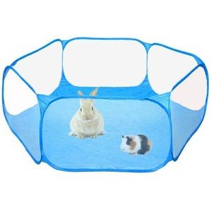 新品 フェンス オープン 透明 ケージ ヤード AT10715 ポータブル テント 通気性 小動物 ベビーサークル JD17