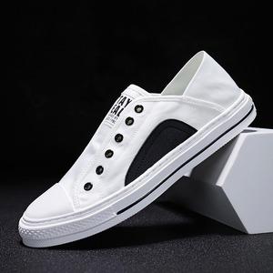 新品 AT10489 キャンバス靴 メンズ デッキシューズ カジュアル スリッポン MU75