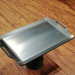 6×200×320イワタニ炉端大将にもはまる黒皮鉄板(タフまるにも使えます)