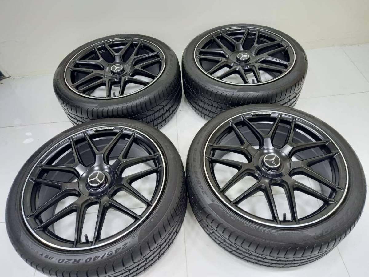 ベンツAMG S63★純正★ マルチスポークSクラス クーペ マイバッハ W222 20インチ★4本セット S65 S63 S500 S55 S400h S300 Pirelli