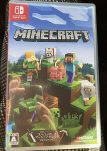 送料140円 マインクラフト スイッチ Nintendo Switch Minecraft ソフト