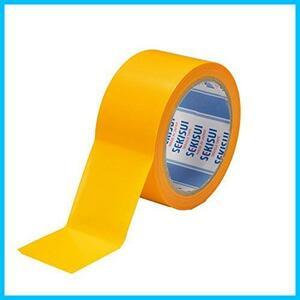 【送料無料-最安】★サイズ:50mm×25m★ フィットライトテープ#736 50mm×25m SEKISUI F2273 マンゴー 養生用 強粘着