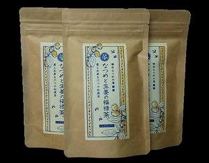 送料無料 福井県産 なつめと生姜の福禄茶 各2g×10袋 3個セット ティーバッグ 国産 なつめのお茶 ノンカフェイン 健康食品 健康茶 棗