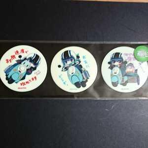 ゆるキャン△高発光ステッカー(リンOnスクーター3種セット)1枚