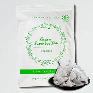 未使用 新品 オ-ガニック 茶つみの里 L-7Z 100包(大容量 2g×100個入) グリ-ンルイボスティ- お徳用 ティ-バッグ
