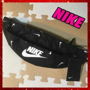 NIKE ナイキ ボディバッグ ヒップバッグ スウッシュプリント 完売商品