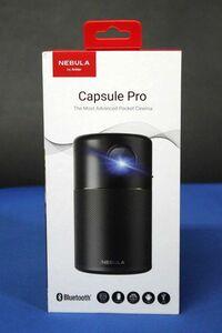 未使用品 Anker アンカー NEBULA ポータブル モバイル プロジェクター Capsule Pro D4111