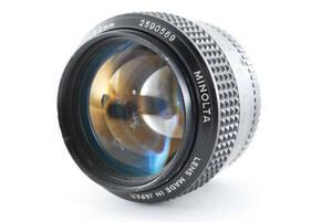 ★実用美品★ミノルタ MINOLTA MC ROKKOR PG 58mm F1.2★5309