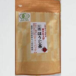 新品 未使用 宮崎茶房(有機JAS認定、無農薬栽培)、有機ほうじ茶(ティ-バッグ5g×20)、 30