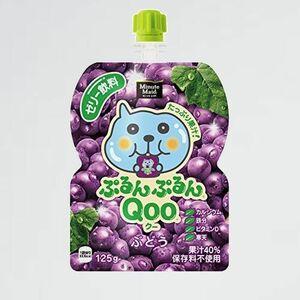 好評 新品 ミニッツ コカ・コ-ラ 3-KD パウチ 125g×30袋 メイド ぷるんぷるんQoo ク- ぶどう ゼリ-飲料