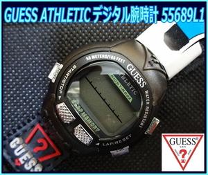 Kちゆ3059 新品・未使用 GUESS ATHLETIC デジタル式腕時計 55689L1 ゲス レディース メンズ 男女兼用 スポーツウォッチ メール便 送料¥280