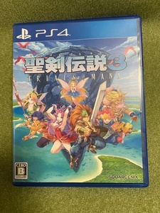 【PS4】中古ソフト 聖剣伝説3 TRIALS of MANA PS5起動確認済み