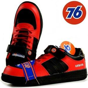 安全靴 メンズ ブランド 76Lubricants ナナロク スニーカー セーフティー シューズ 靴 メンズ 3036 ブラック/レッド 26.5 新品 /