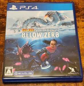 PS4ソフト サブノーティカ ビロウ ゼロ