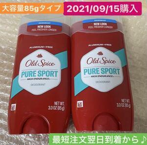 old spice オールドスパイス ピュアスポーツ デオドラント 制汗剤 2本