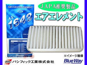 エルフ NJR85 H19/8~H23/5 エアエレメント エアー フィルター クリーナー パシフィック工業 BlueWay