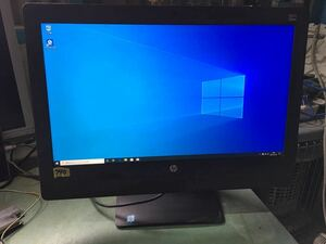 790 【Win10Pro】HP ProOne 600 G3 21.5-in Non-Touch All-in-One Core i5-6500 メモリ8GB HDD500GB