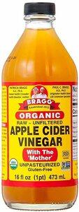 新品Bragg オーガニック アップルサイダービネガー 【日本正規品】りんご酢 473mlRZGD