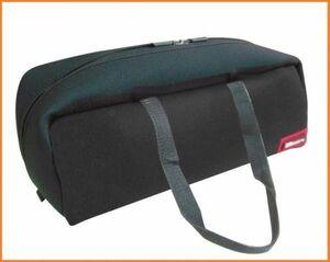 特別価格!DBLTACT トレジャーボックス ツールバッグ DTQ-L-BK ブラック 道具入れ 横長 バッグ 工具バッグCZ1K