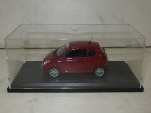 nationwide free shipping!asheto domestic production famous car collection Subaru R1 RJ1 2005 year red total length /77mm× width /33mm× height /36mm