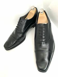 管理176 日本製 REGAL 26㎝ リーガル ビジネス シューズ ストレートチップ メンズ 革靴 ブラック レザー 黒 冠婚葬祭