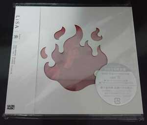 LiSA CD 炎 初回生産限定盤 DVD付 鬼滅の刃 劇場版エンディング