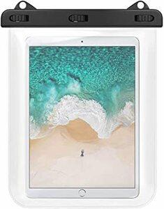 透明 防水ケース タブレット防水ケース 12インチ以下 ATiC 透明防水カバー iPad Air 4 2020 10.9、iP