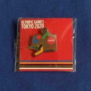 コカ・コーラ 2020 東京オリンピック ピンバッジ ♪『バレーボール』ピントレーディング