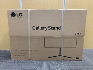 ② 送料無料 未使用品 LG OLED 壁寄せギャラリースタンド テレビスタンド FS21GB